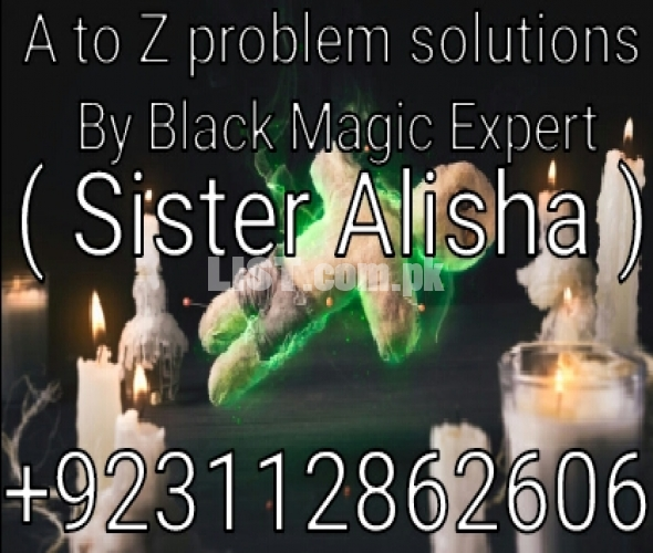 Black magic removal expert sister Alisha all problems solve one call