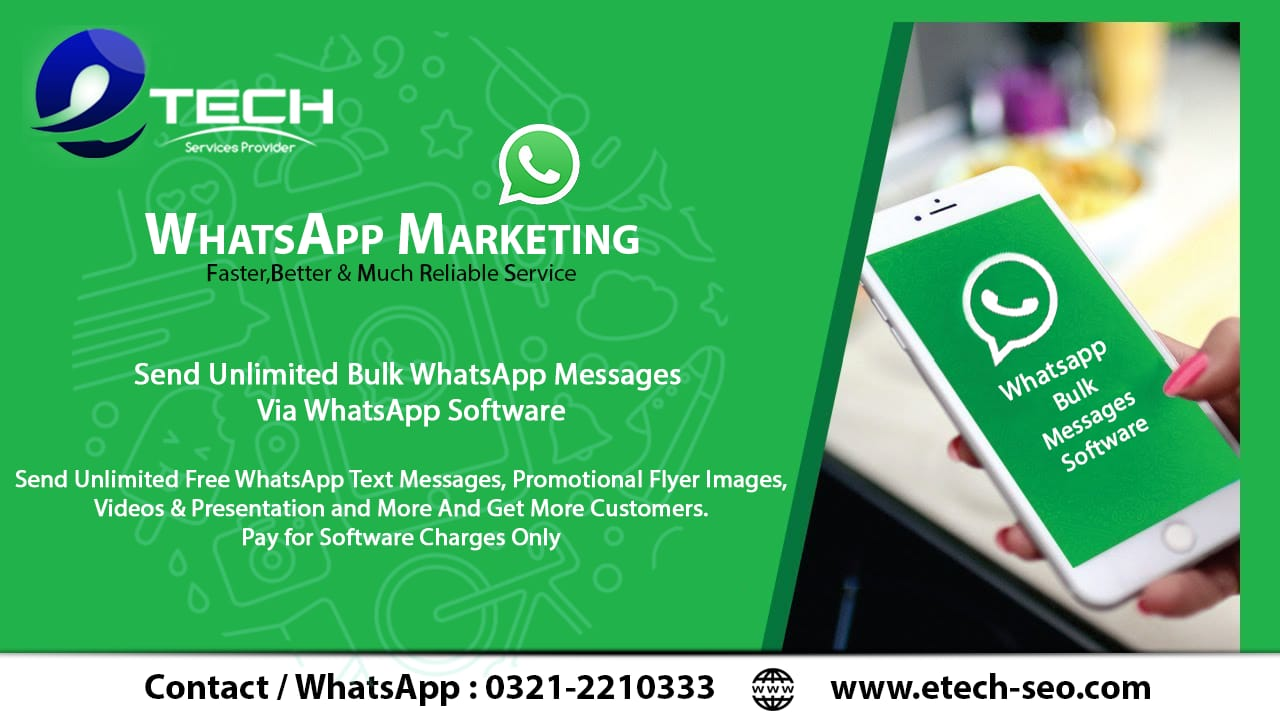 WhatsApp Marketing - Bulk WhatsApp Sender Software