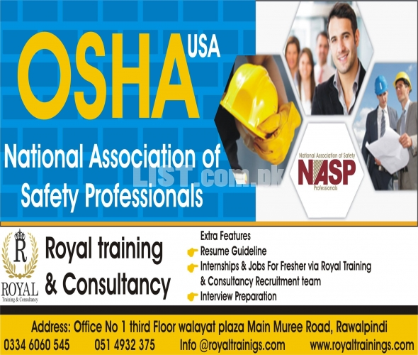 OSHA 30 Hours International Professional Course