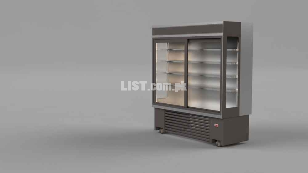 Multi Deck Fridge in Pakistan,Open Type Vertical Chiller Pakistan