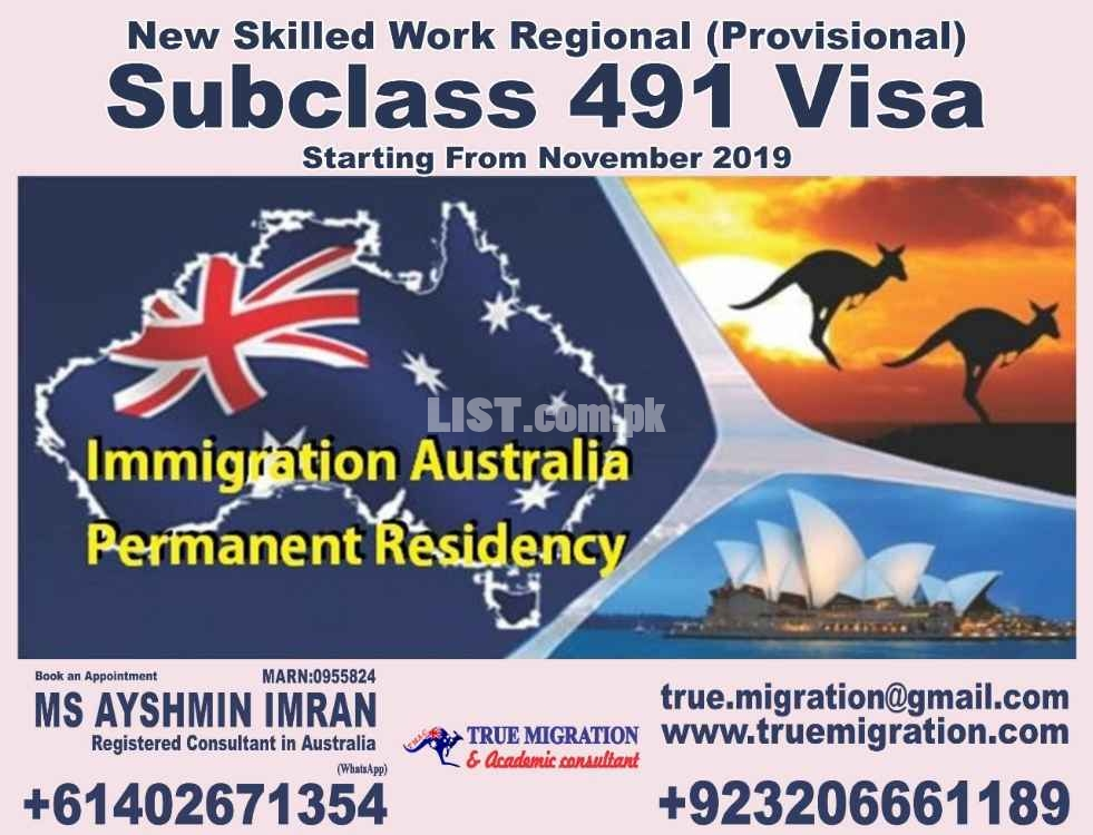True Migration and Academic Consultants - MS. Ayshmin Imran