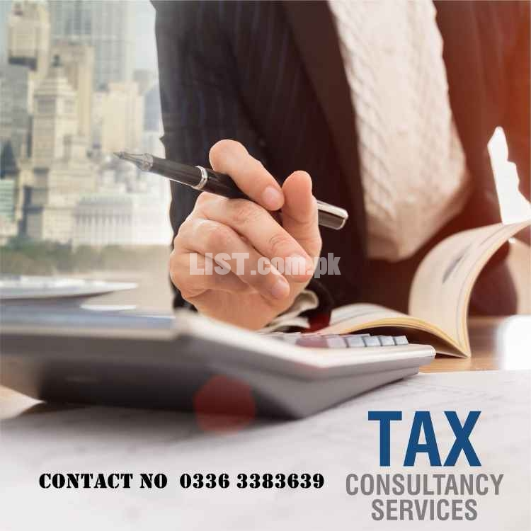 NTN, Tax filer, Return filing, GST/PRA, Company/firm registration