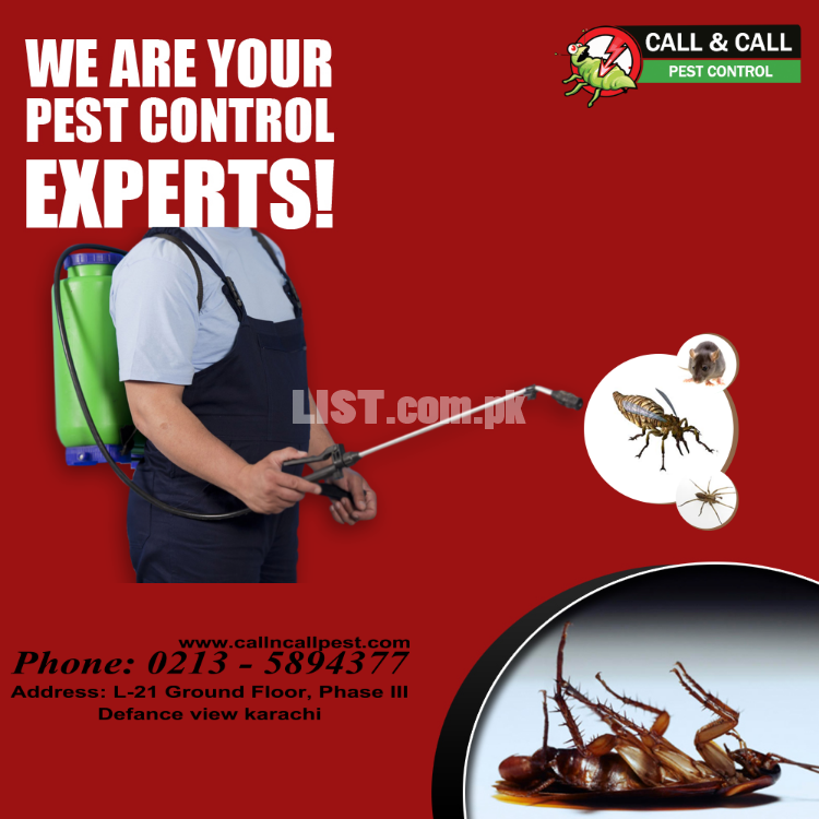 Fumigation services in karachi