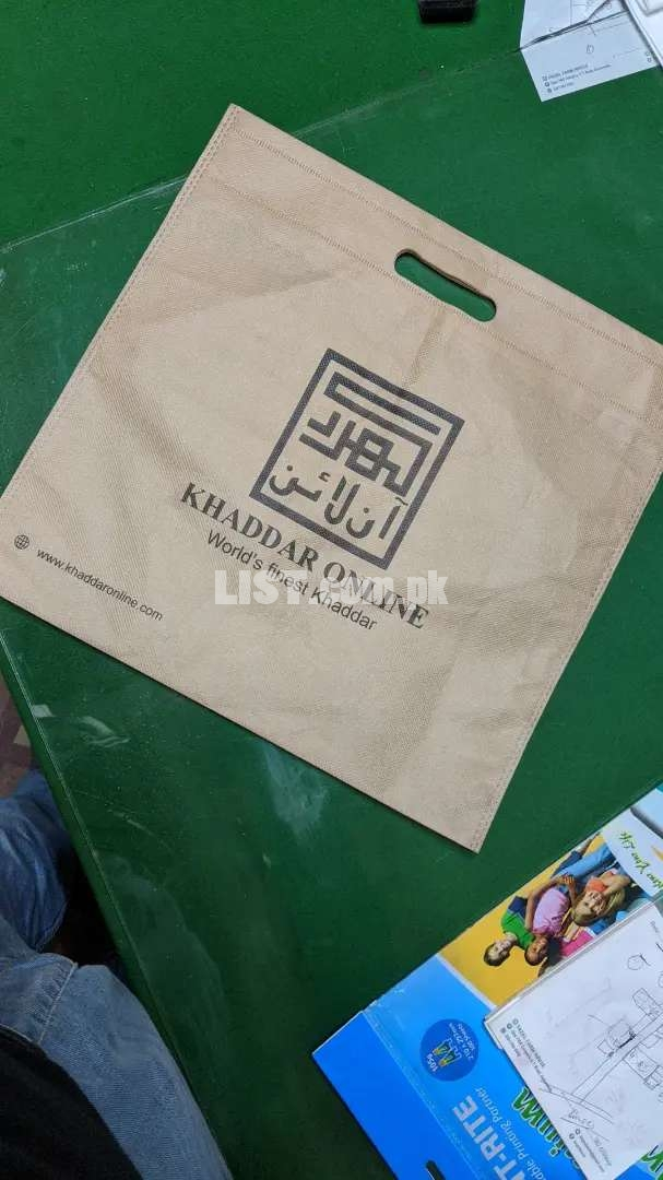 Non woven bags manufacturers (Real alternative of plastic bags)