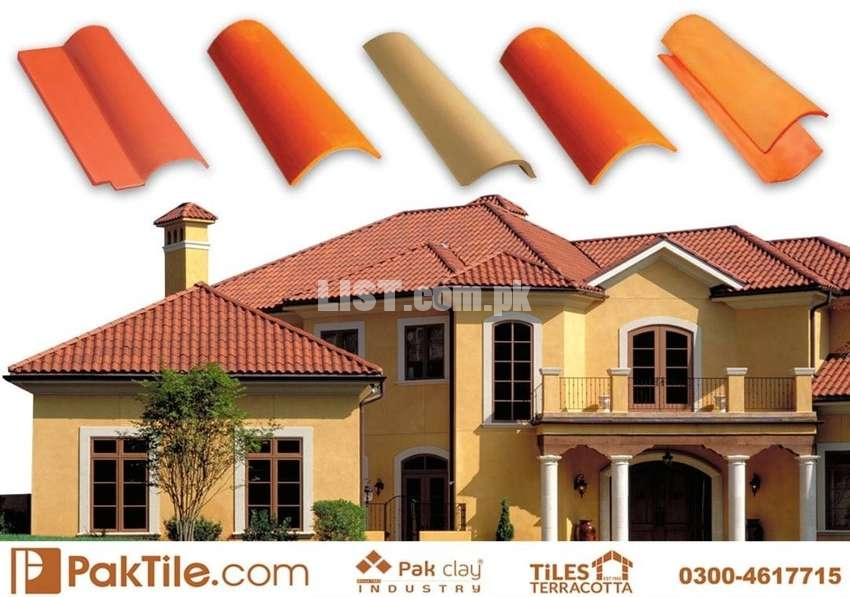 A 1 Quality Clay Roof Tiles in Pakistan