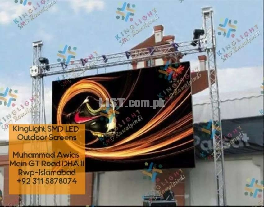SMD Screen For Outdoor Indoor Advertising, LED Sign Board, LED Walls