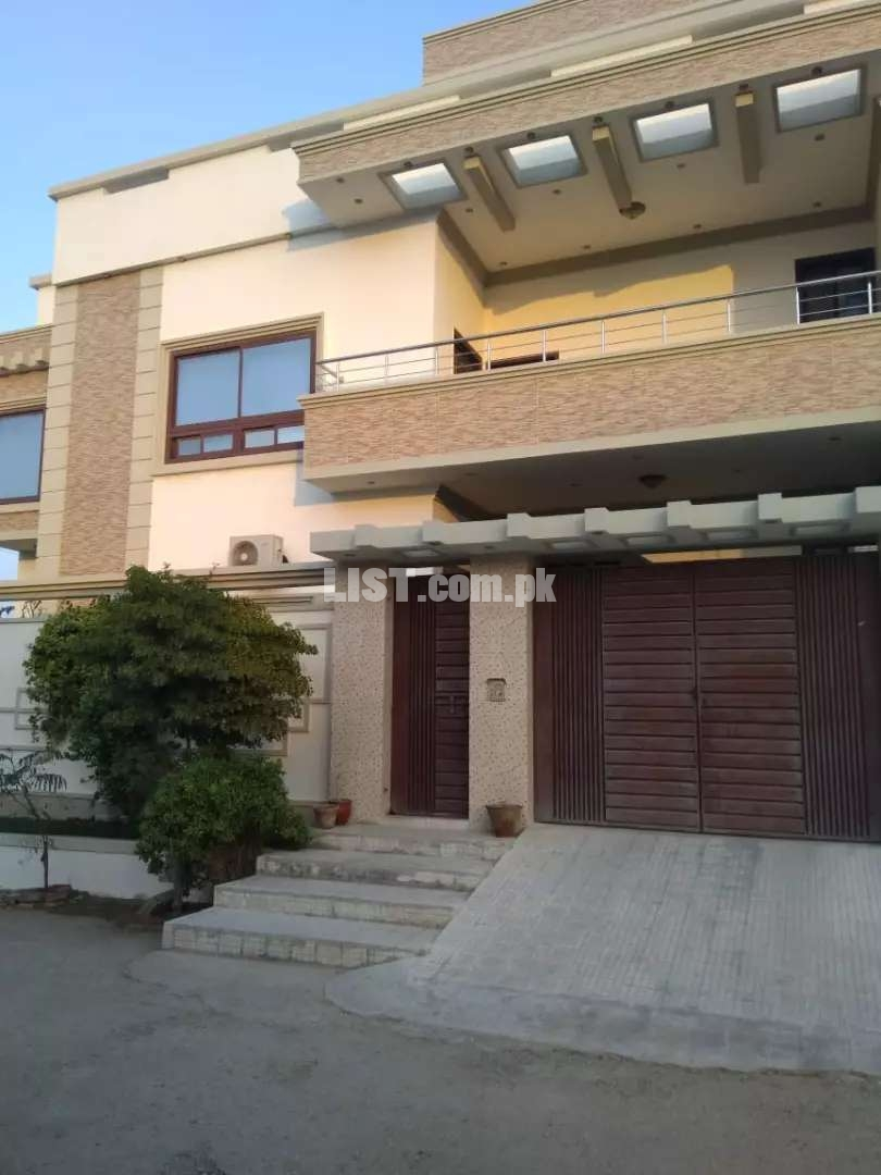 Double story 500 Square yard house for sale in kohsar,judges society