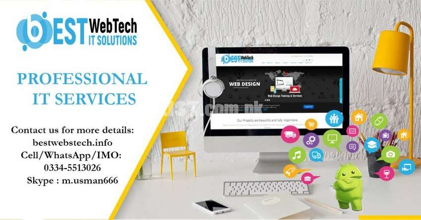 Any type of website and Mobile Applications Development (Android+IOS)