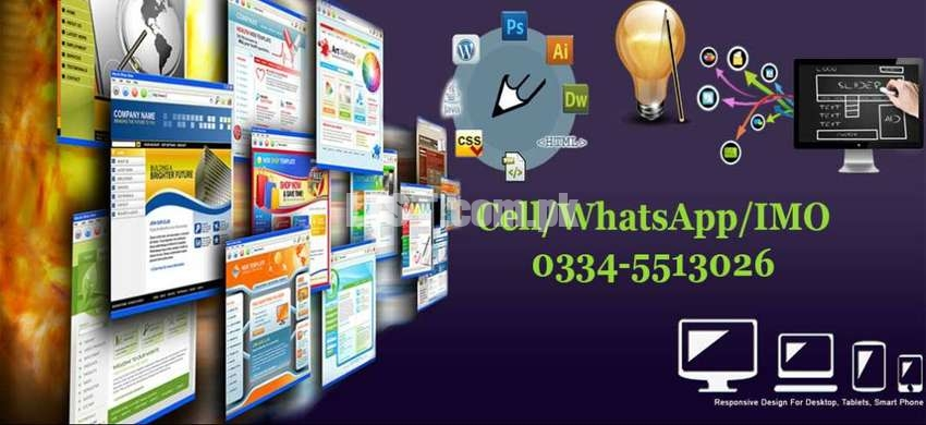 Get Professional website And Mobile Applications at  reasonable Price