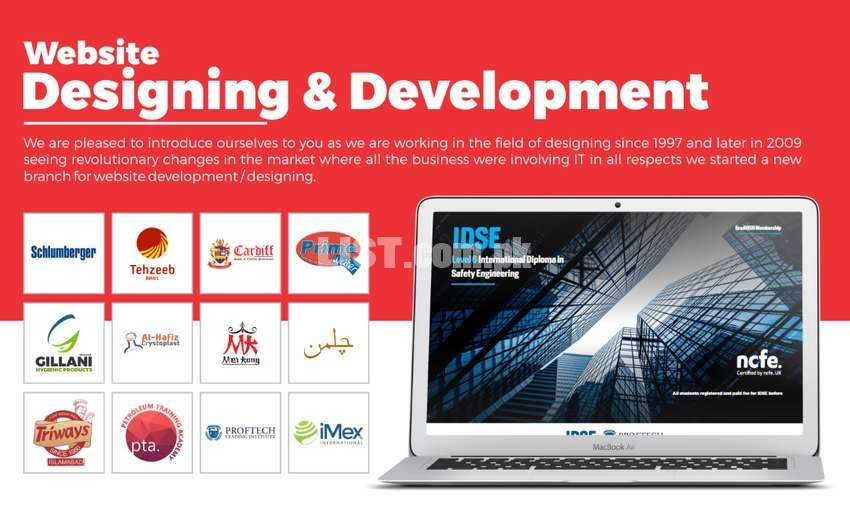 Customized Website Designing & Development with SEO & Monthly Contract