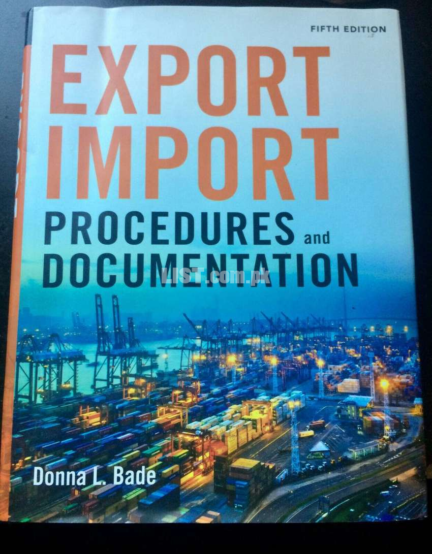 business import export documentation conversation book imported book