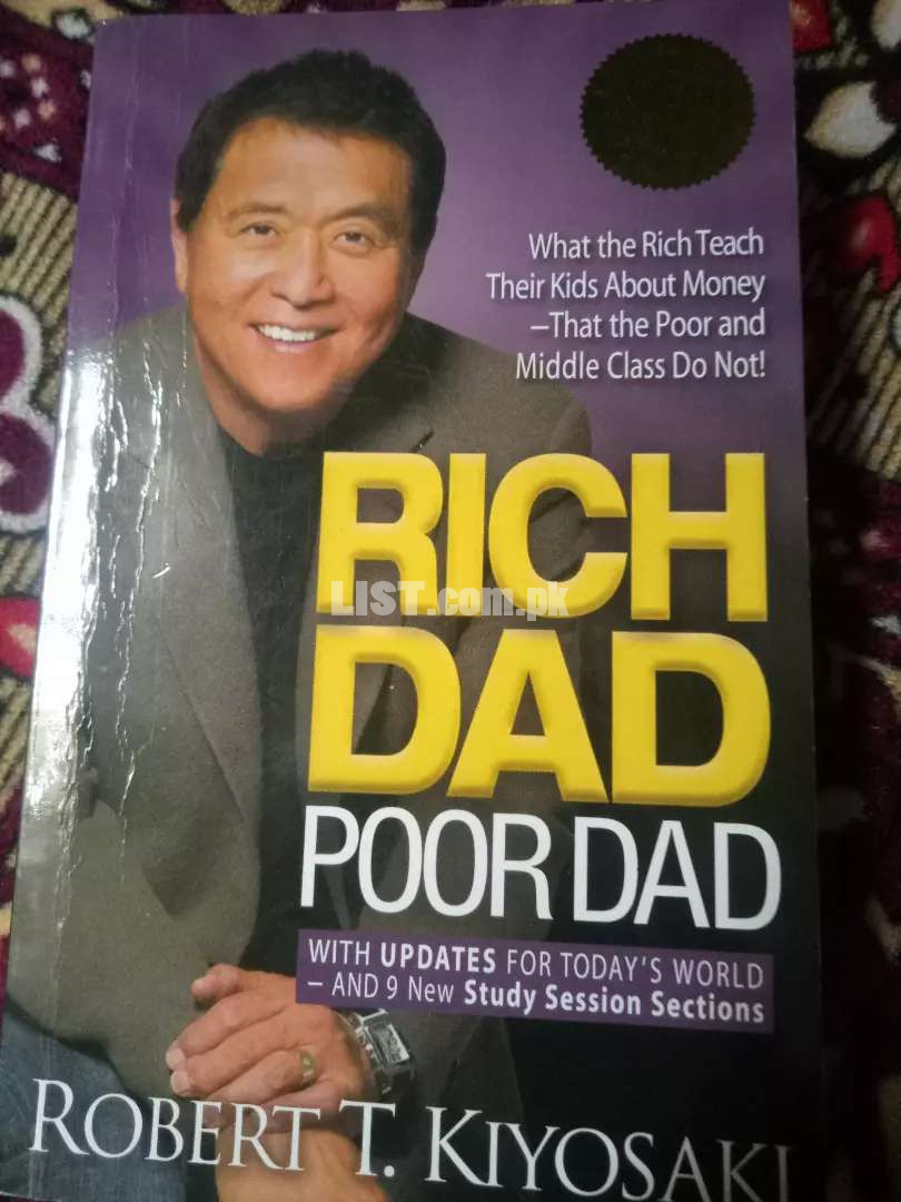 Rich dad And Poor dad for sell.