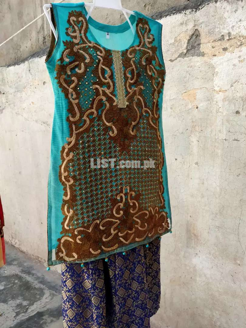 Readymade suit For girl front full krahai All Size available