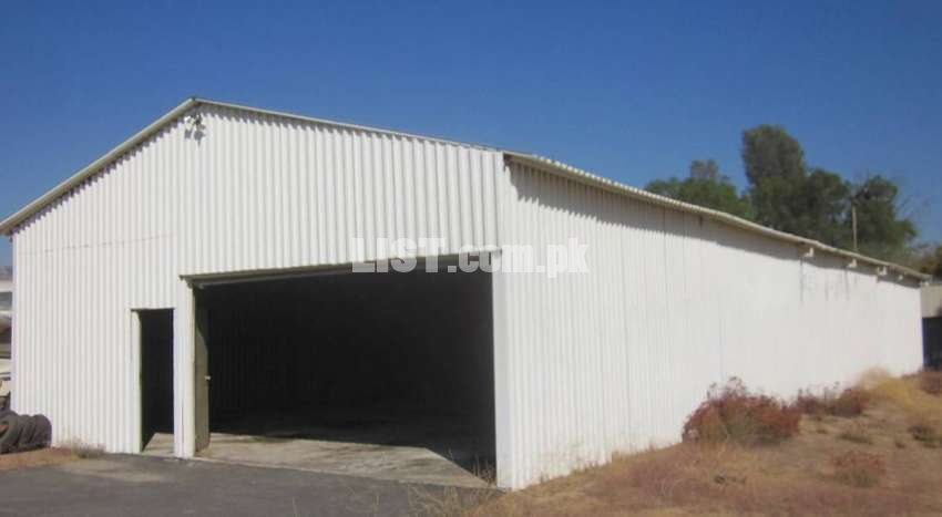 Warehouse / Store for Rent - National Highway Near Hyderabad / Matiari
