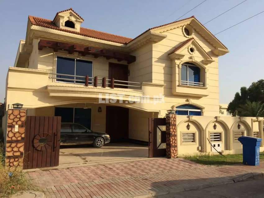 Furnished one kanal house is Available for rent in bahria town PH#3