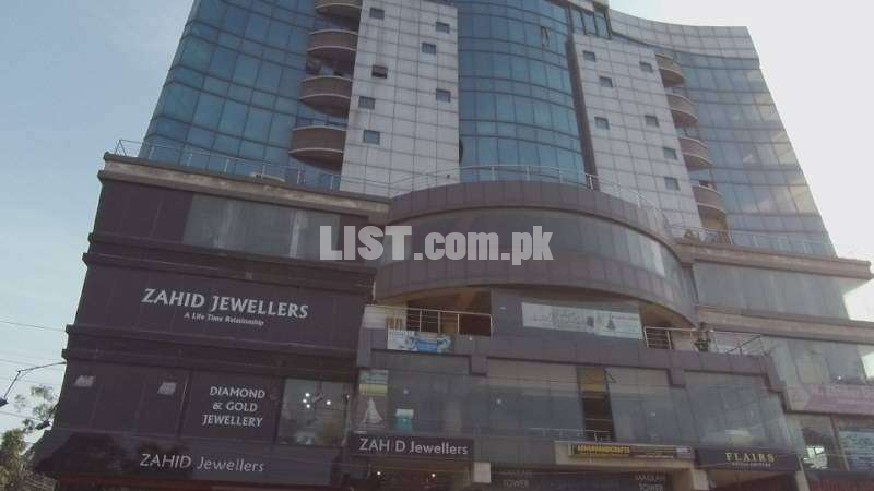 Shop For Rent In Makkah Tower Liberty Market Lahore