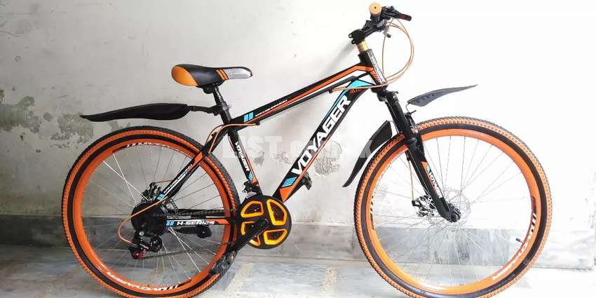 | Brand New | Voyager Mountain Bike with Disk Brakes and Front Shock