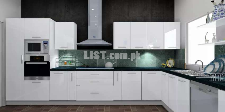Modern PVC kitchens for sale at factory rates