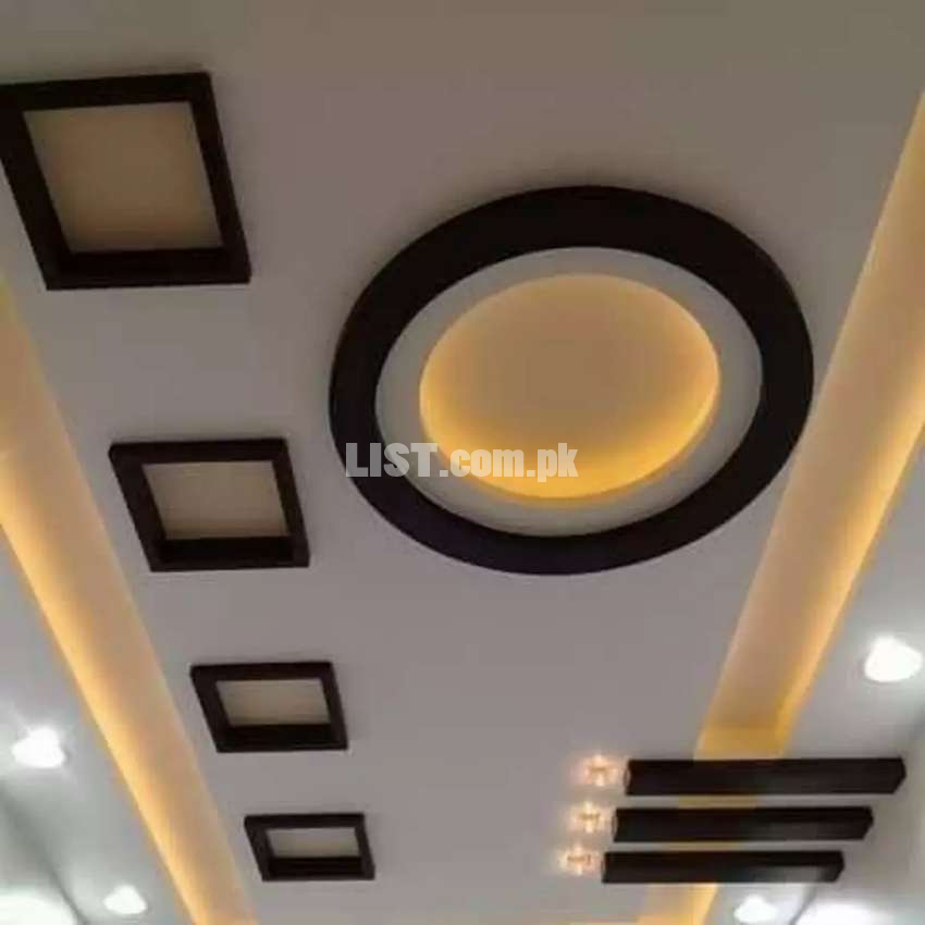 ceiling contractor's