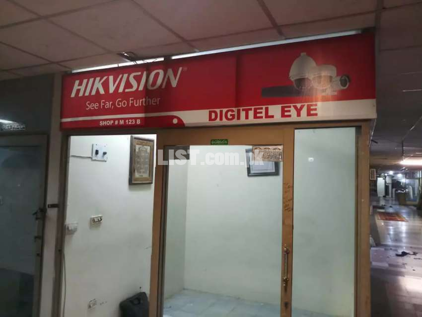 Shop and office available for tent Near 3 Talwar Glass tower karachi