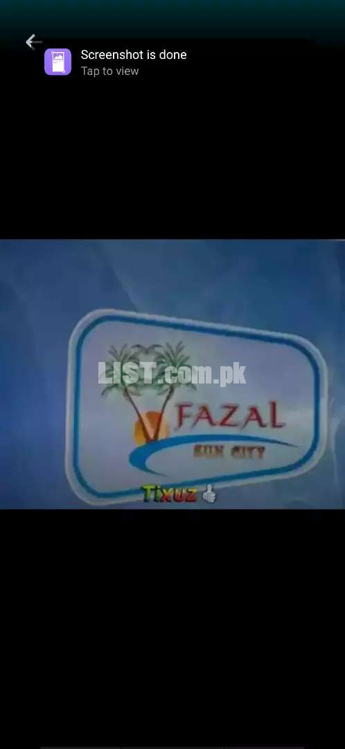 Fazal sun city pilot phase 1