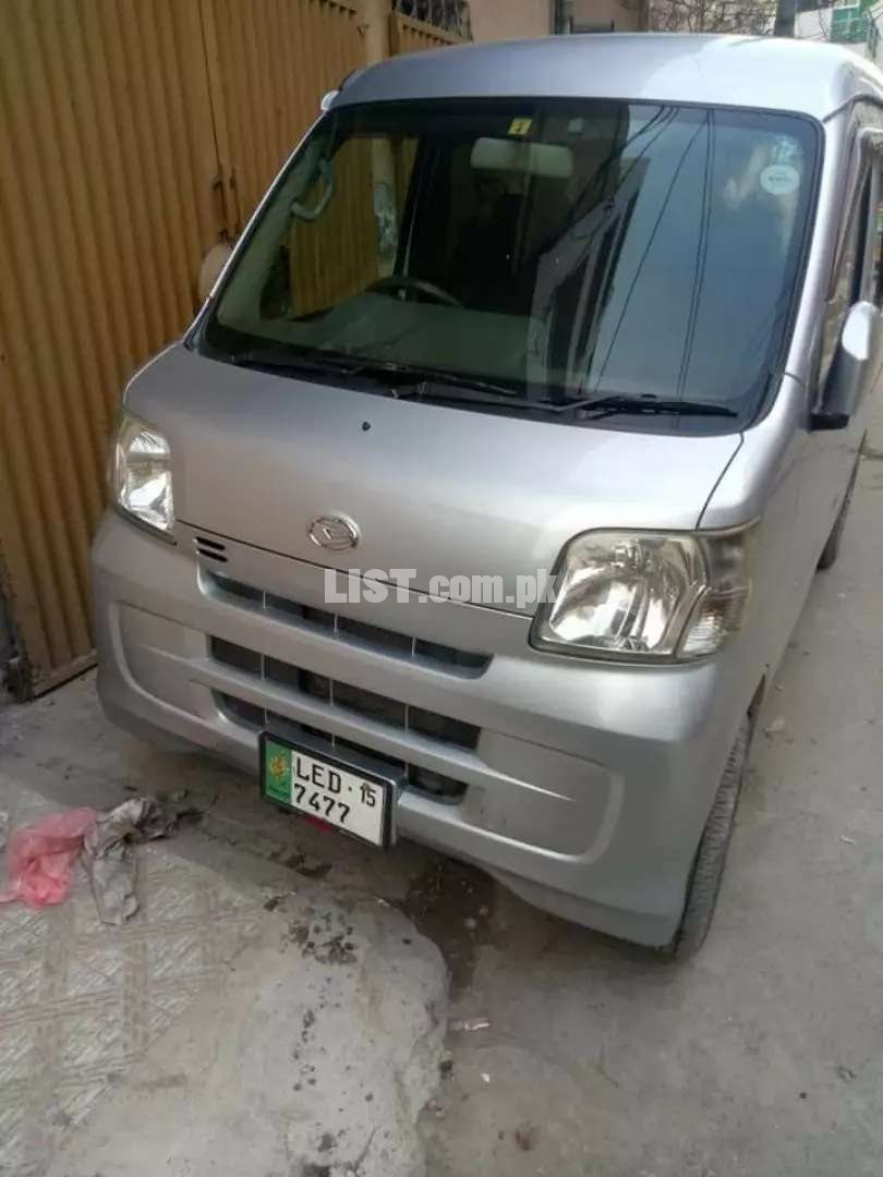 Hijet available for rent with driver