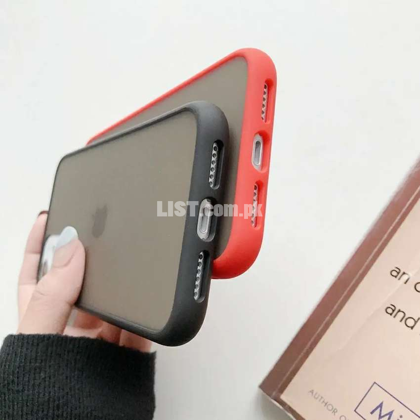 Transparent Shockproof Phone Case For iPhone 11 Pro X XR XS Max
