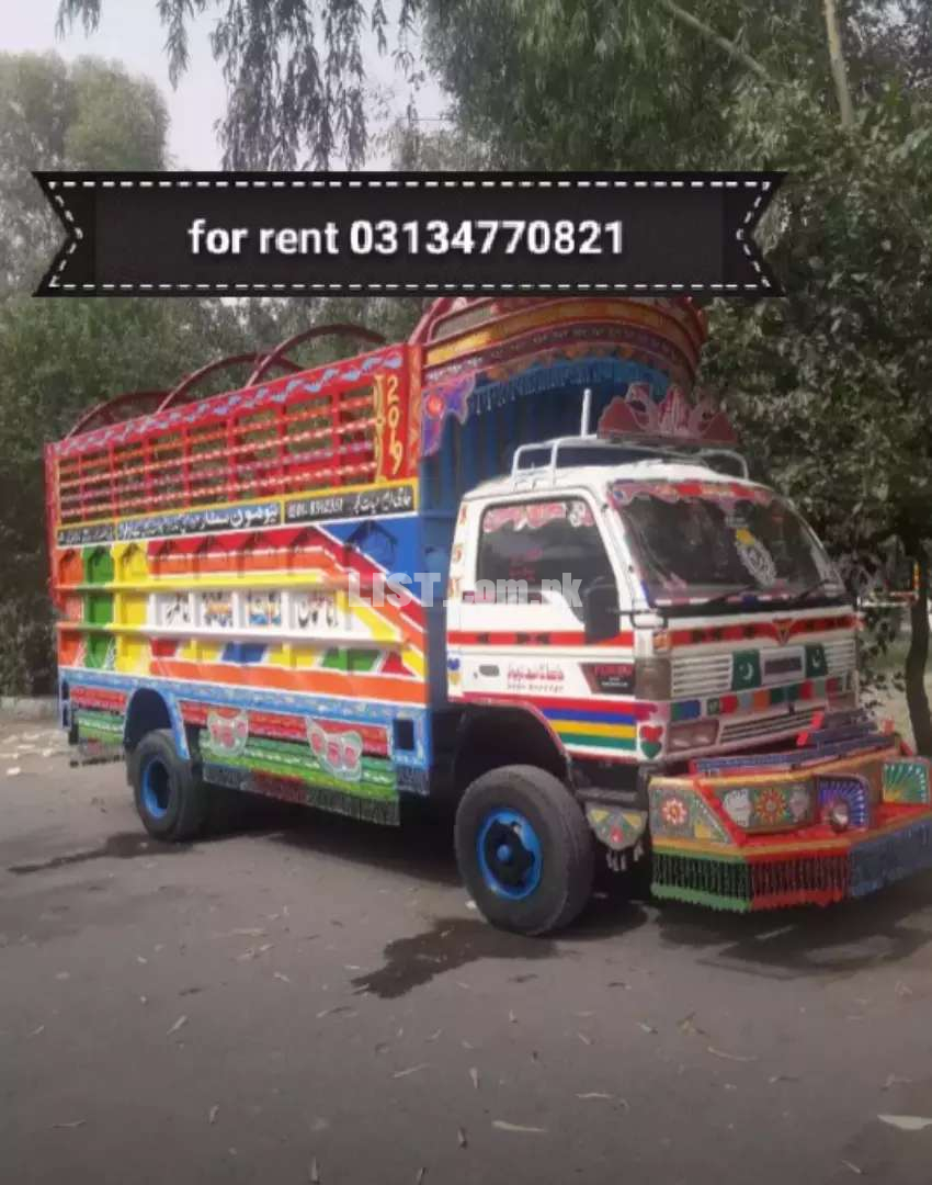 Mazda truck for rent