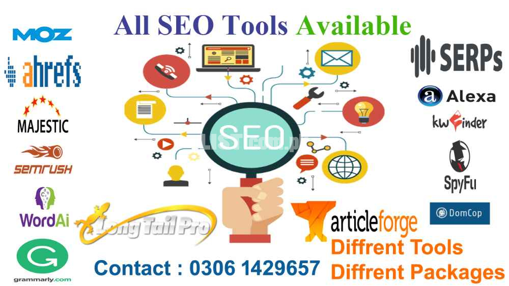 Premium Seo Tools in cheap price!