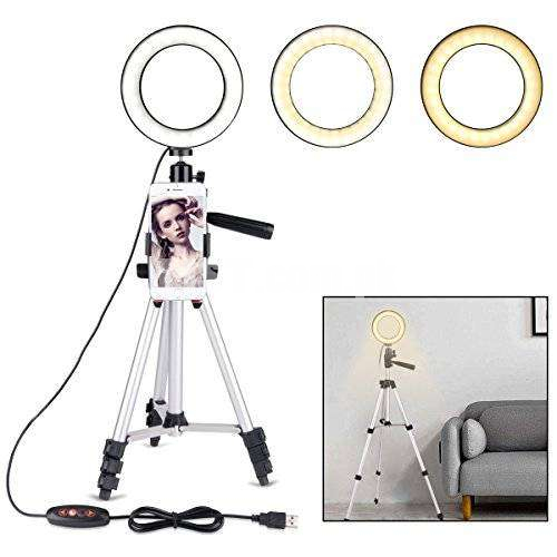26cm Ring Light With Tripod Stand 3110