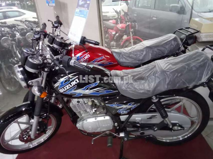 Zabardast offer! Just pay RS 56600 and get ur brand new Suzuki 150SE