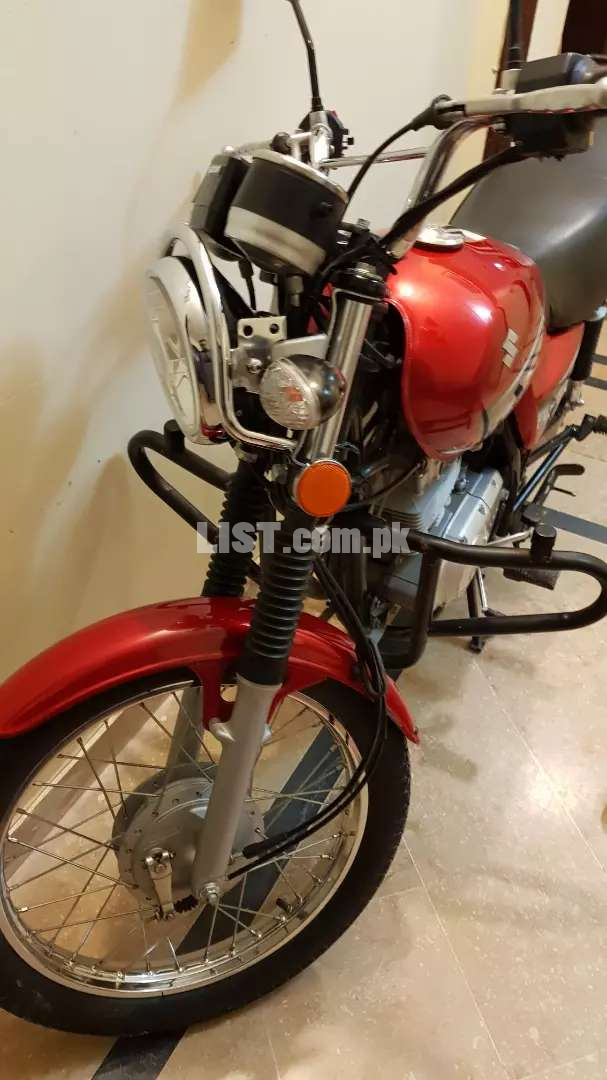 Suzuki GS150 2020 Aug model sports tyres,hid,shks hood installed