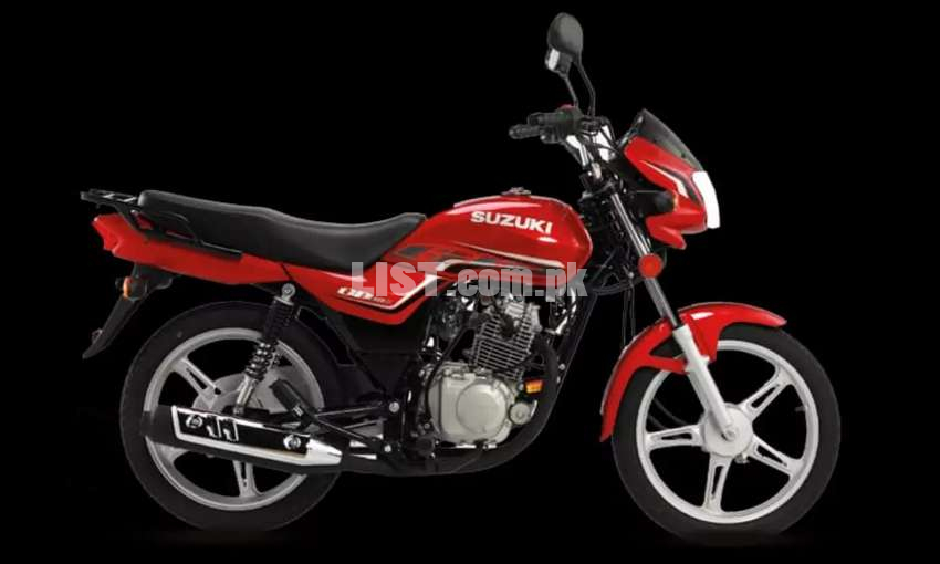 0% Mark up on all suzuki motorcycles and 24 monthly installments