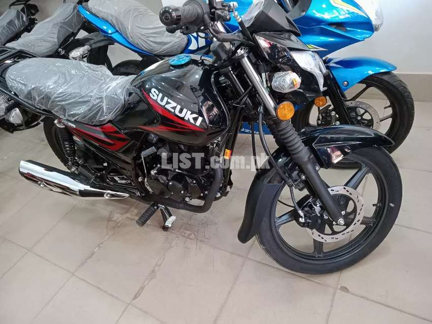 SUZUKI GR 150 NEW 2021 MODEL AVAILABLE ON THE SPOT DELIVERY