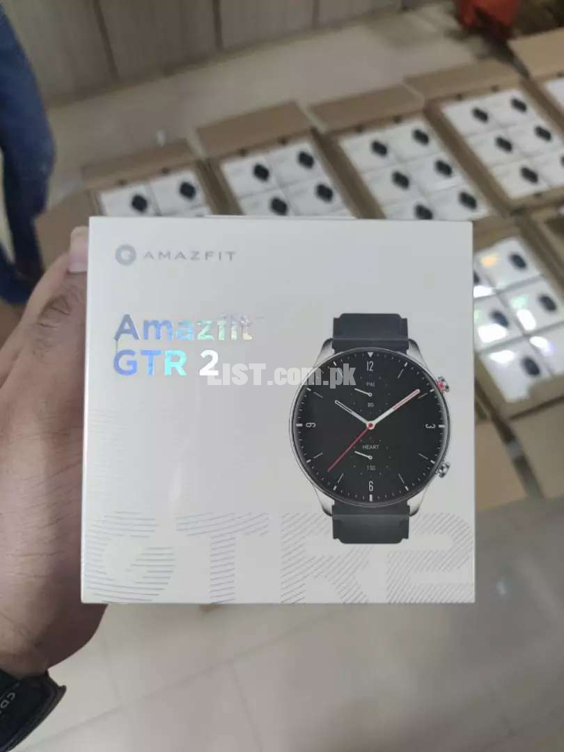 Amazfit GTR 2 Brand New Stock Now Available