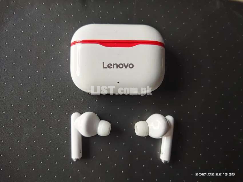 Lenovo live pods new and original full high bass on music 6 h time