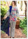 WHOLESALE UNSTITCHED LADIES LAWN / COTTON SUIT
