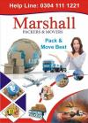 Marshall Int'l house Packing Moving Shifting relocation  cargo company