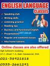 English Language Classes Home Tution