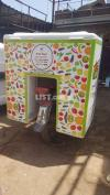 Bike fitted insulated delivery box