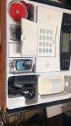 GSM Security Burglar Alarm Systems With Multiple Wireless Zones