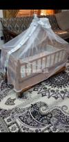 Baby Cot with swing