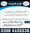 Online working job opportunity for Male/Female and students