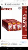 Olper/milk pack carton, 250ml (27 piece) with free home delivery