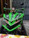 250 lifan 4 wheel Quad bike patrol green/black almost brand new
