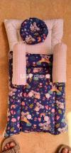 Baby Sleeping Bag Front Zipper Baby Crib 0-1 Year Infant   Baby Cots