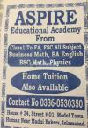 Aspire Home Tuition